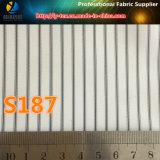 安いポリエステルあや織りのヤーンによって染められる縞のスーツのライニングファブリック(S187.188)