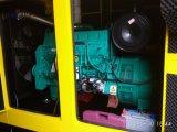 комплект генератора 350kVA/280kw Cummins охлаженный водой звукоизоляционный тепловозный