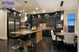 Moderne feste hölzerne Walnuss-Küche-Schrank-Küche-Schränke Craigslist