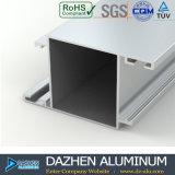 Profil en aluminium de certificat d'OIN pour la porte de guichet de type de la Tanzanie