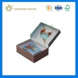 Caixa cosmética da forma da gaveta da alta qualidade do OEM com impressão feita sob encomenda (com nó da borboleta da fita)