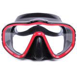 Máscara de Frameless para o mergulho autónomo e a máscara larga Snorkeling do mergulho da vista