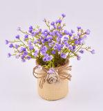 Искусственний яркий цветок весны для украшения