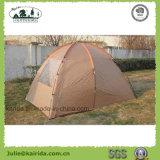 居間が付いている3人の二重層のキャンプテント