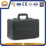 신제품 4 이동할 수 있는 쟁반을%s 가진 튼튼한 저장 상자 아름다움 케이스 알루미늄 케이스 (HB-6349)