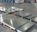 Feuilles plates galvanisées pour la plaque en acier de Roofs&Cladding /Galvanized