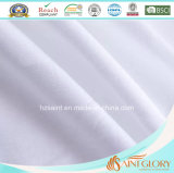 Pura abajo estándar de tamaño blanco de pluma de ganso y almohada