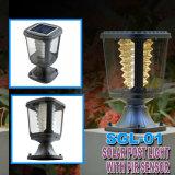 낮은 전압 정원을%s 현대 LED 태양 기둥 빛