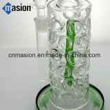 Plataforma petrolera de cristal del tubo de agua que fuma (AY002)