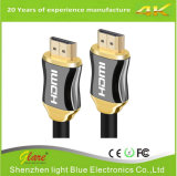 Kabel van de Computer van het metaal de HDMI aan HDMI