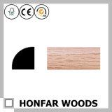 5/8 inに。 X 4 inに。 カシのベニヤの木製の幅木の鋳造物