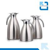 De Pot van de Koffie van het Roestvrij staal van Poplular en VacuümKetel met Plastic Deksel