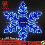 Ventas calientes LED del copo de nieve de Navidad luces decorativas para el jardín Tienda del partido