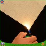 Tela tejida franco impermeable de la cortina del apagón del poliester de la materia textil casera