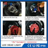 Farol 4WD da luz do carro da lâmpada H4 H7 do auto acessório do diodo emissor de luz C6