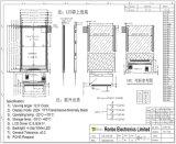 """2.4 """" étalage de TFT LCD de 240*320 MCU 16bit, IC : Ili9341V, FPC 38pin pour la position, sonnette, médicale, véhicules"""
