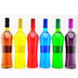 la vodka de calidad superior de 700ml 750ml embotella la botella de cristal del whisky de la botella del alcohol