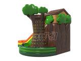 Скольжение хвастуна детей счастливых джунглей раздувное для игр