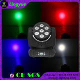 Ce RoHS 7X12W DJ Disco Light Moving Head Poutre LED