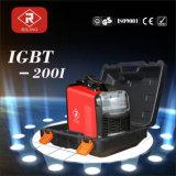 Soudeuse de MMA IGBT avec le boîtier plastique (IGBT-140I/180I/200I)