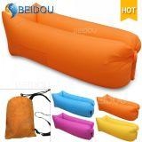 DIY Ein-Mund Kneipe-aufblasbare Luft-Sofa-Bananen-fauler Schlafsack