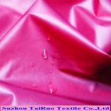 Taffetas en nylon enduit brillant d'unité centrale pour le tissu extérieur avec imperméable à l'eau