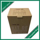 印刷されるロゴのボックスを包むコーヒーカップ