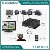 生きている眺め3/4G WiFi GPS GセンサーとのハイブリッドH 264 Ahd CCTV 4CH移動式DVR