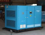 Compresseur industriel noyé par pétrole à deux étages de vis d'air 8bar (KF185-8II)