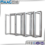 Dobradura de alumínio do vidro/porta Bifold/porta de Bifolding