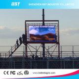Luminance élevée imperméable à l'eau polychrome d'Afficheur LED de la publicité extérieure de P6 RVB SMD