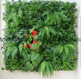 인공적인 녹색 벽 장식적인 잔디 플랜트