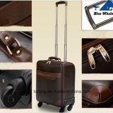 Diseñador del viaje del equipaje del bolso / caja de la carretilla del equipaje con ruedas giratorias 360