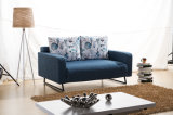 Base di sofà squisita della camera da letto dei piedini del metallo, alto bracciolo