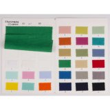 100% la tela de algodón, lino tiene gusto de la tela del llano del algodón de la arruga de la arandela