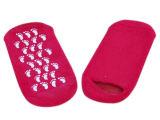 Die BADEKURORT Gel-Socken, die Socken-Haut-Sorgfalt-Schönheits-Socken befeuchten, erweichen Socken