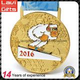 クリスマスのための新製品の習慣の実行の金属メダル