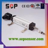 Sensor de deslocamento linear para indústria usando