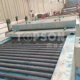 L'elevatore parte il piatto di marmo dello strato dell'acciaio inossidabile di colore acquaforte per il progetto del metallo