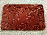 Maquinaria que graba de Fabric&Leather del átomo