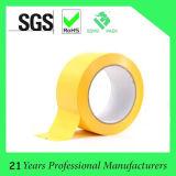 Double bande dégrossie jaune de tissu