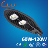 Material durable luz de calle solar de la potencia de 60 vatios LED