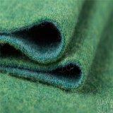 Doppi tessuti del cachemire dei lati di 100% per la stagione di inverno nel verde