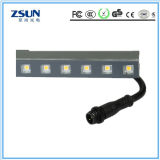 Indicatore luminoso lineare impermeabile esterno dell'interno automatico della rondella della parete di DMX LED
