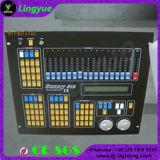 Controlador da iluminação do estágio do console DMX 512 do disco do USB DJ