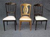 2017結婚式のための新しいデザイン金属のナポレオンの椅子およびパテントの保護(YC-A330)のレストラン