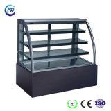 A padaria comercial Refrigerated o refrigerador do indicador do bolo/congelador antinebulosos da pastelaria (KT780A-M2)