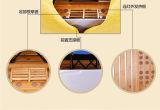 Sauna portatile domestica portatile di Infrared lontano della STAZIONE TERMALE di sauna