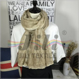 sciarpa di Hijab di stile tinta lavata dell'olio di conteggio del filato di carnevale 80s retro con Handfeel morbido