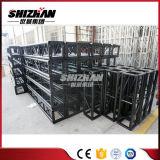 Fascio di alluminio del bullone/vite del quadrato nero di Shizhan 300*300mm